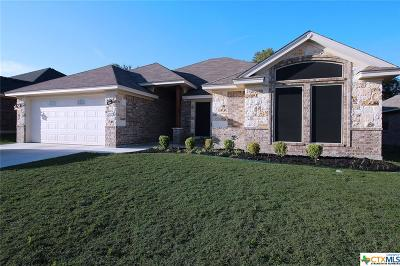 Harker Heights Single Family Home For Sale: 1008 Chaucer Lane