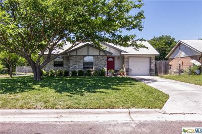 Harker Heights Single Family Home Pending: 1208 Coronado Road