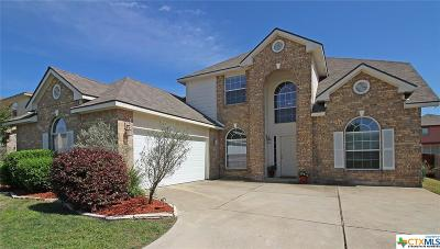 Harker Heights Single Family Home Pending: 112 Lone Shadow Drive