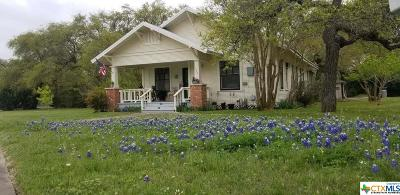 Burnet County Single Family Home For Sale: 420 Hopewell Road