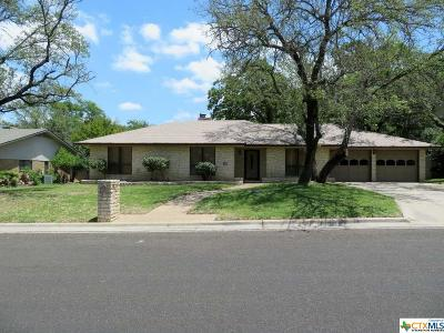 Harker Heights Rental For Rent: 2107 Antelope Trail
