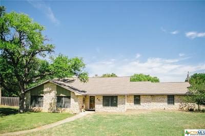 Belton Single Family Home For Sale: 601 Pecos Trail
