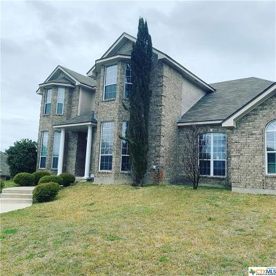 Copperas Cove Single Family Home Pending: 1118 Hawk Trail