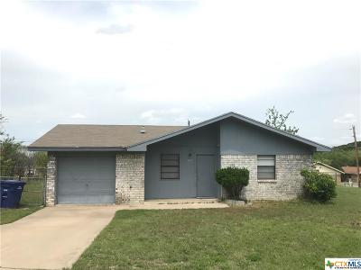 Copperas Cove Single Family Home For Sale: 502 Geri Drive