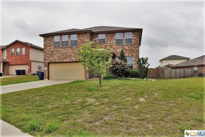 Copperas Cove Single Family Home For Sale: 2002 Ryan Drive