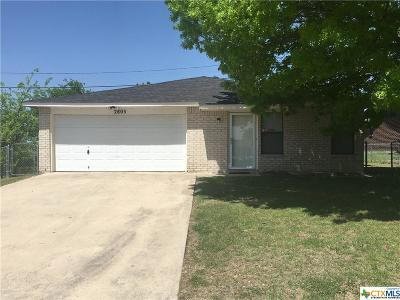 Killeen Single Family Home For Sale: 2805 Schwald Road