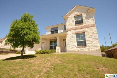 Killeen TX Single Family Home For Sale: $170,000