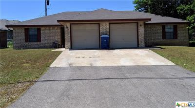 Copperas Cove Single Family Home For Sale: 805 N 1st Street #1 -2