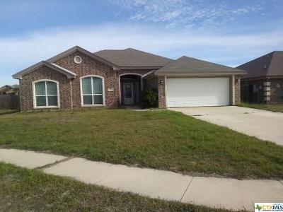 Killeen Single Family Home For Sale: 4007 Salt Fork Drive