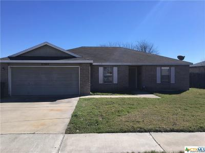 Killeen Single Family Home For Sale: 3304 Viewcrest Drive
