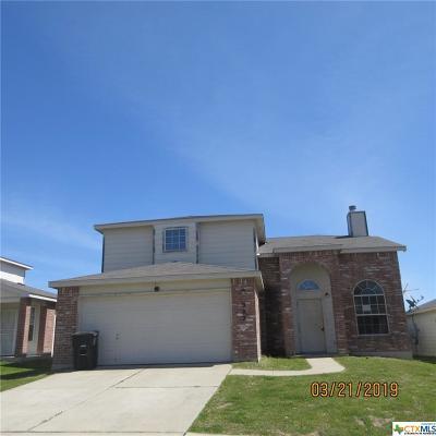 Killeen Single Family Home For Sale: 2902 Blackburn Drive