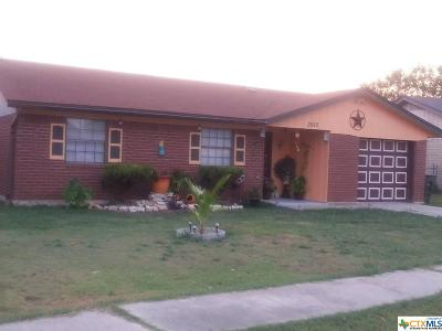Killeen Single Family Home For Sale: 2610 Hidden Valley Drive
