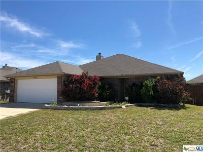 Killeen Single Family Home For Sale: 3804 Clementine Drive