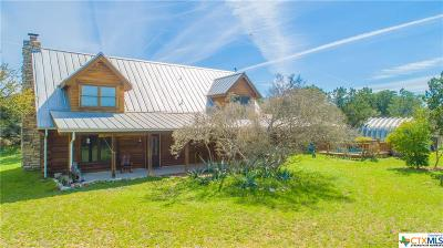 Burnet County Single Family Home For Sale: 7300 Park Road 4 W