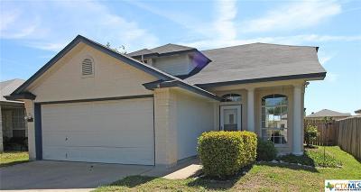 Killeen Single Family Home For Sale: 1510 Grey Fox Trail