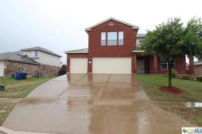 Copperas Cove TX Single Family Home For Sale: $225,000