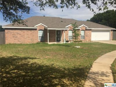 Copperas Cove Single Family Home Pending: 2208 Cathie Circle