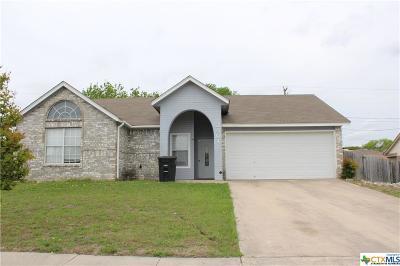 Killeen Single Family Home For Sale: 2501 Pixton Drive