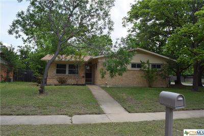 Killeen Single Family Home For Sale: 1407 Carrollton Avenue