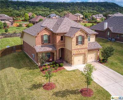 Harker Heights Single Family Home For Sale: 3913 Hickory View