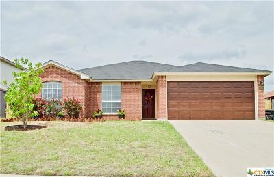 Killeen Single Family Home For Sale: 3507 Bugle Drive