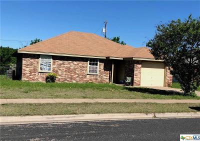 Killeen TX Single Family Home For Sale: $77,000