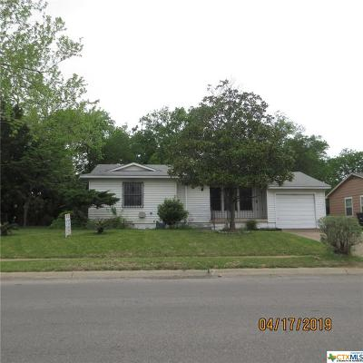 Killeen TX Single Family Home For Sale: $39,500