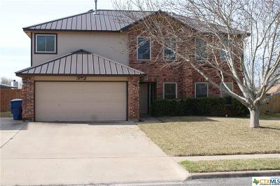 Copperas Cove Single Family Home For Sale: 312 Barber Drive
