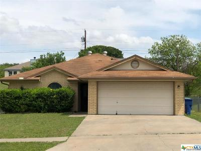 Copperas Cove Single Family Home For Sale: 210 Wagontrain Circle