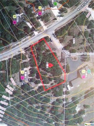 Canyon Lake Residential Lots & Land For Sale: 1931 Rocky Ridge Loop