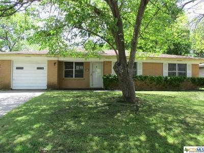Temple Single Family Home For Sale: 2713 Shady Hill Drive