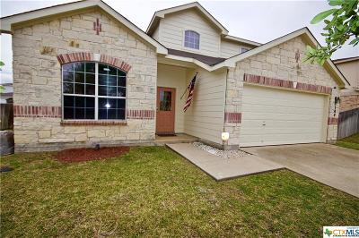 Killeen Single Family Home For Sale: 3308 Thunder Creek Drive