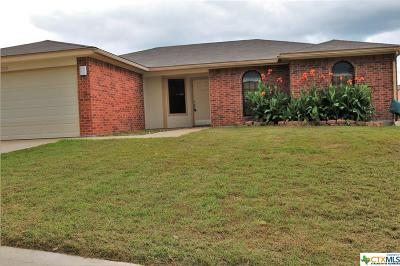 Copperas Cove TX Single Family Home For Sale: $132,000