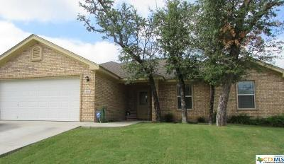 Copperas Cove Single Family Home For Sale: 3511 Lucas Street