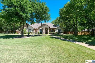 Belton Single Family Home For Sale: 3303 Schooner Cove