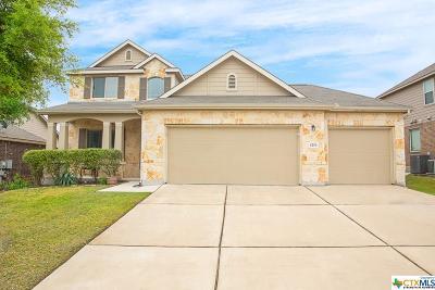 New Braunfels Single Family Home For Sale: 6210 Desert Rose