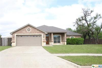 Killeen Single Family Home For Sale: 5605 Boxelder Trail