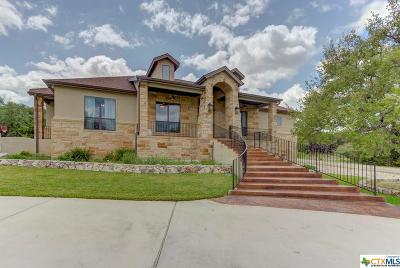 New Braunfels TX Single Family Home For Sale: $549,500
