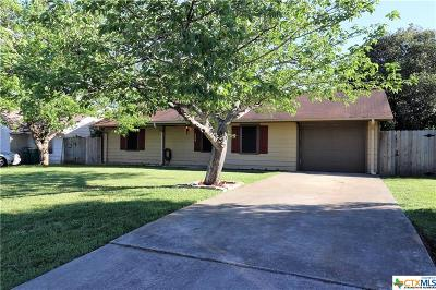 Belton TX Single Family Home For Sale: $117,900