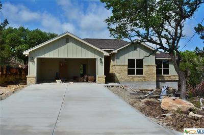 Comal County Single Family Home For Sale: 1220 Iron Wood Road