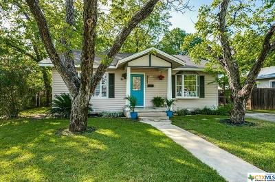 New Braunfels Single Family Home For Sale: 1241 W Mill Street