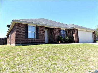 Killeen TX Single Family Home For Sale: $139,900