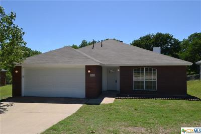 Copperas Cove Single Family Home For Sale: 2003 Mattie Drive
