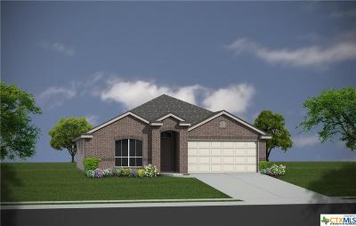Copperas Cove Single Family Home For Sale: 2320 Pintail Loop