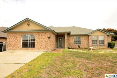 Killeen Single Family Home For Sale: 4311 Telluride Drive