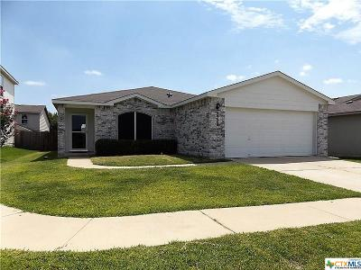 Killeen Single Family Home For Sale: 3300 John Porter Drive