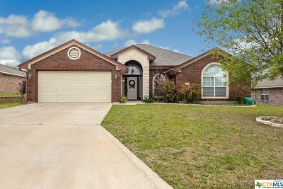 Harker Heights Single Family Home For Sale: 708 Tundra Drive