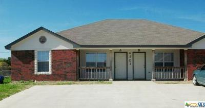 Copperas Cove Multi Family Home For Sale: 4101 Primrose Drive