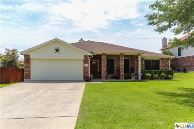 Harker Heights Single Family Home For Sale: 111 W Running Wolf Trail