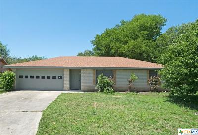 Temple TX Single Family Home For Sale: $127,500